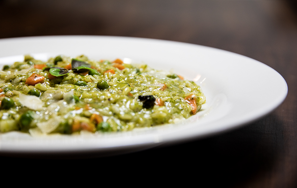 RISOTTO VEGETARIAN PESTO